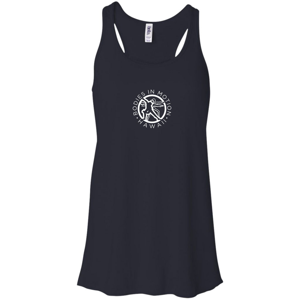 Bodies in Motion Canvas Flowy Racerback Tank