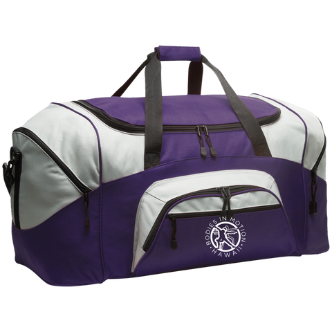 Image of Bodies in Motion Port & Co. Colorblock Sport Duffel
