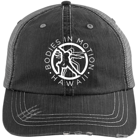Image of Bodies in Motion  Distressed Unstructured Trucker Cap
