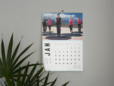 Bodies in Motion 2020 Calendar