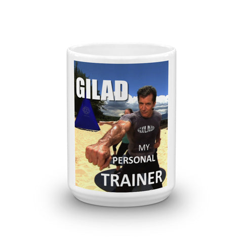 Image of Gilad My Personal Trainer Mug