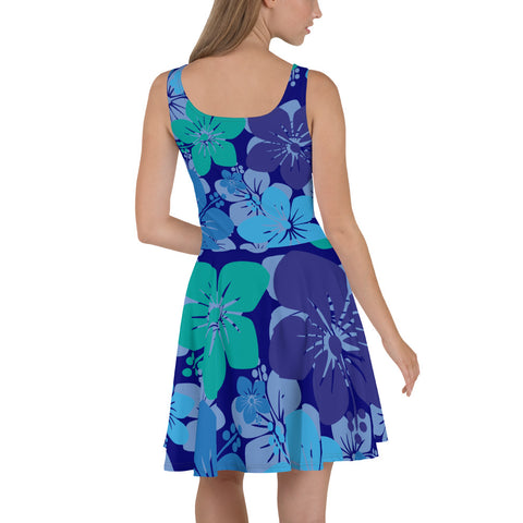 Skater Dress with a flare of Hawaii
