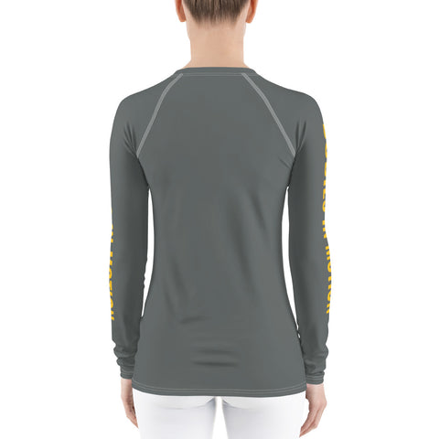 Image of Bodies in Motion Women's Rash Guard