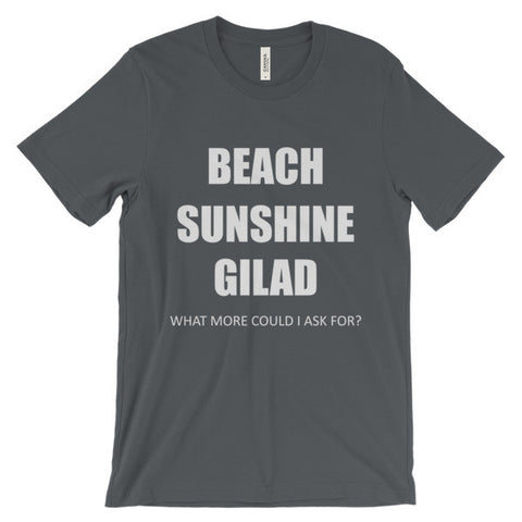 Image of Beach Sunshine Gilad - Unisex short sleeve t-shirt