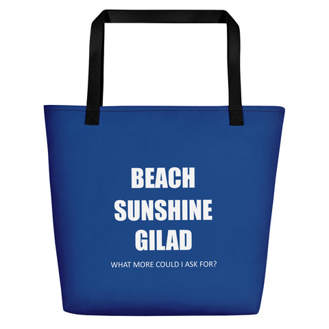 Bodied in Motion Beach Bag