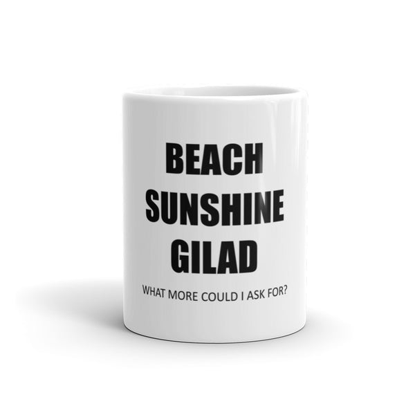 Beach Sunshine Gilad Mug