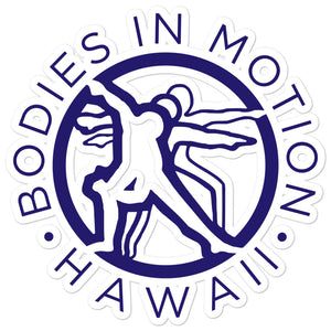 Bodies in Motion Bubble-free stickers
