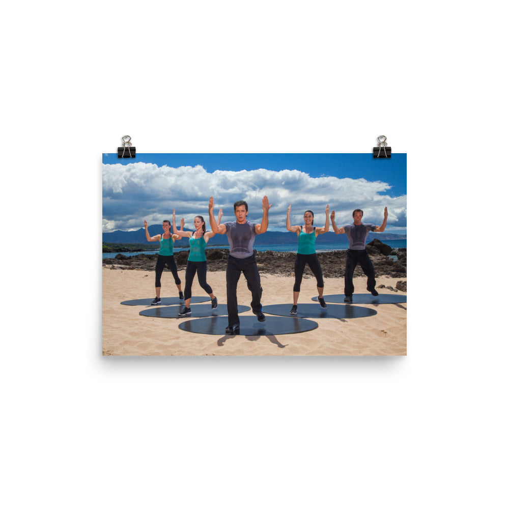 Bodies in Motion Photo paper poster