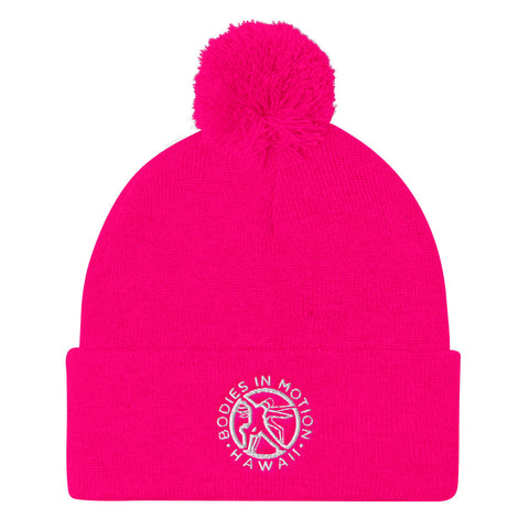 Image of Bodies in Motion Pom Pom Knit Cap