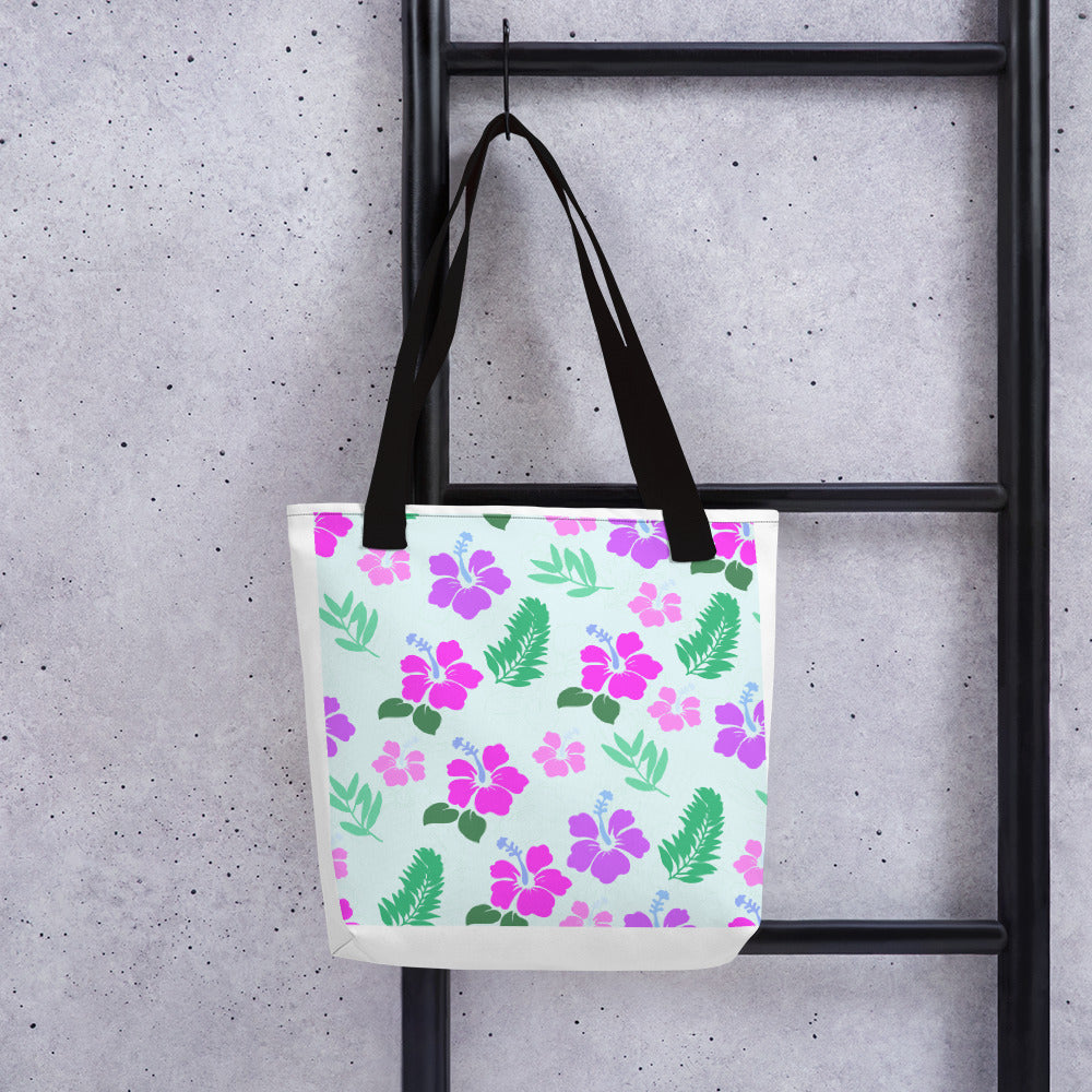 Tote bag with a touch of Hawaii