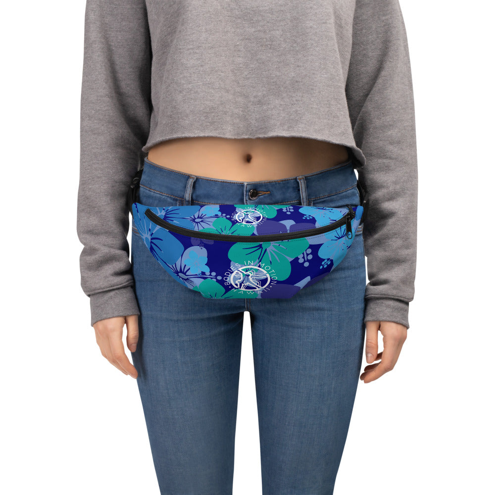 Bodies in Motion Fanny Pack with a touch of Hawaii