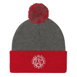 Bodies in Motion Pom Pom Knit Cap