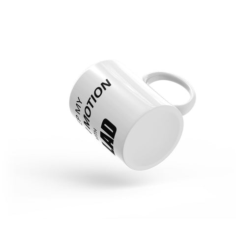 Image of I keep My Body in Motion With Gilad Mug
