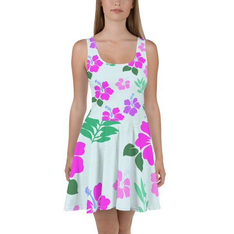 Skater Dress with a touch of Hawaii