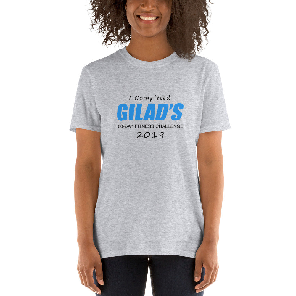 I completed Gilad's 60-Day Fitness Challenge - Short-Sleeve Unisex T-Shirt