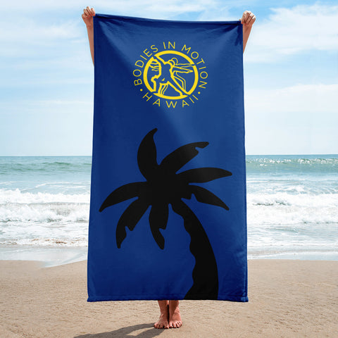 Bodies in Motion Beach Towel