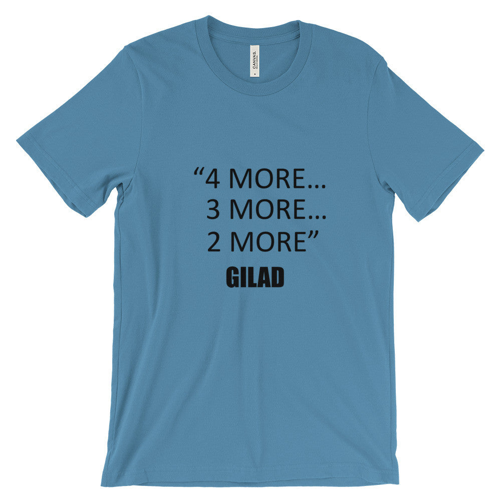 Gilad's Bodies in Motion with Gilad. 4 more ... - Unisex short sleeve t-shirt