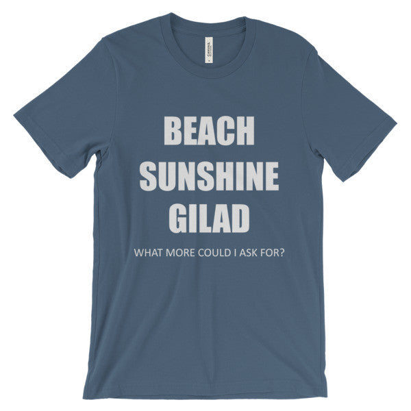 Beach Sunshine Gilad - Unisex short sleeve t-shirt