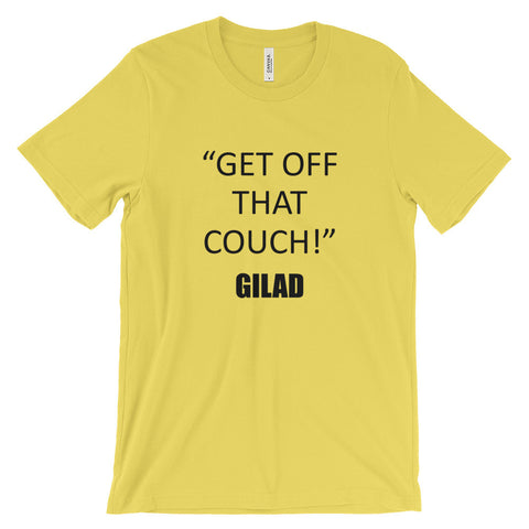 Image of Get Off That Couch - Unisex short sleeve t-shirt