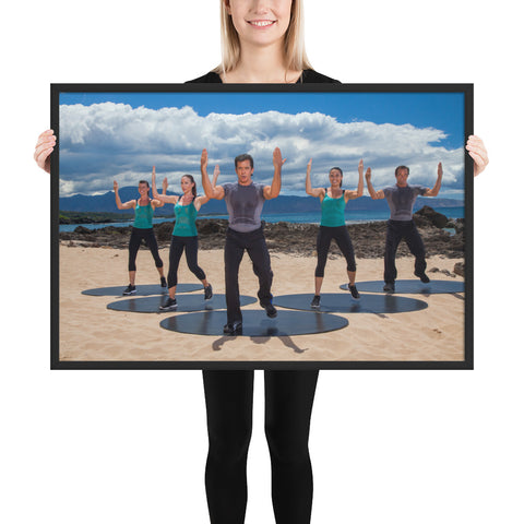 Bodies in Motion Framed matte paper poster