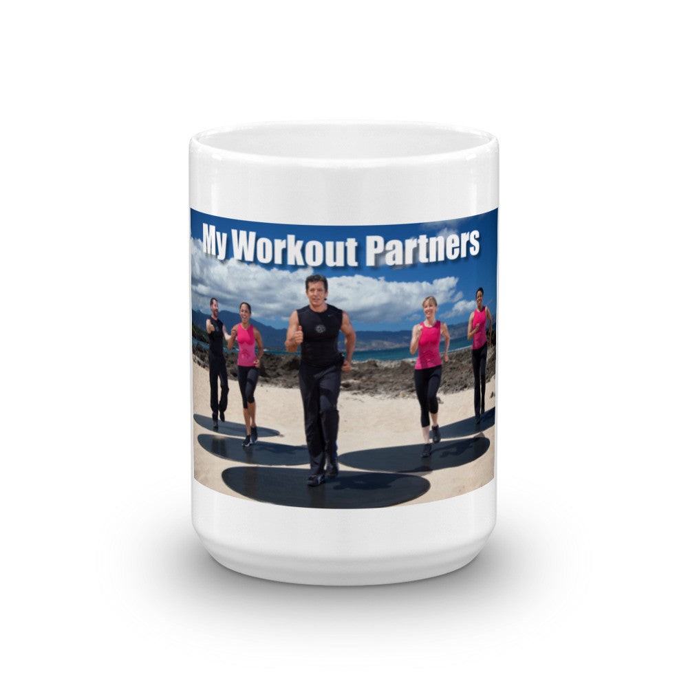 Gilad is My Workout Partner Mug