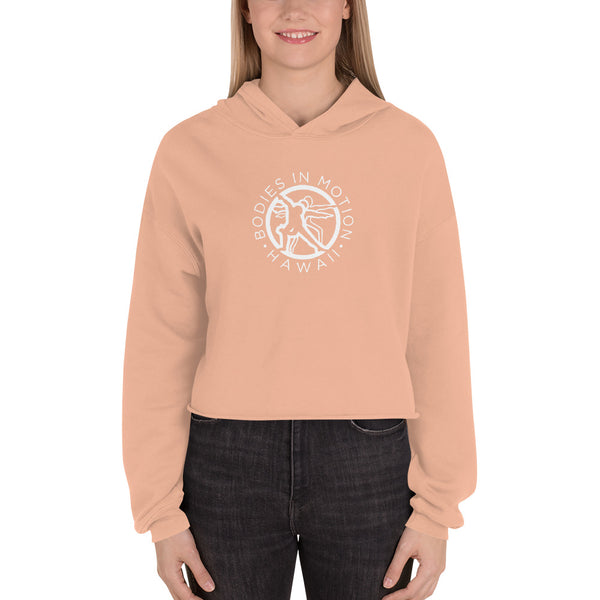 Bodies in Motion Fleece Crop Hoodie
