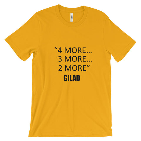Image of Gilad's Bodies in Motion with Gilad. 4 more ... - Unisex short sleeve t-shirt