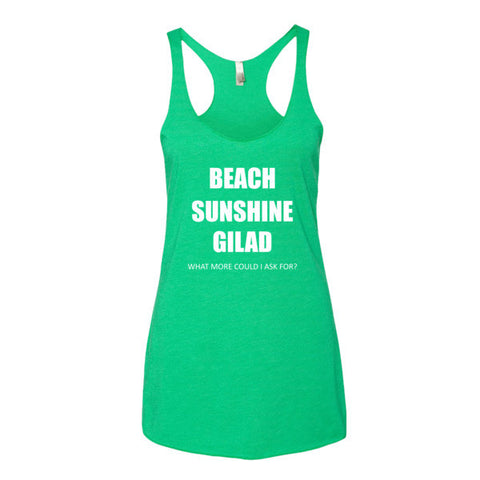 Beach Sunshine Gilad - Women's tank top