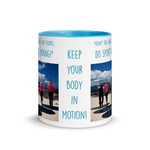 Do Sports and Be Young - Mug