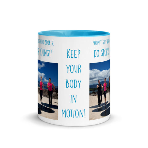 Image of Do Sports and Be Young - Mug