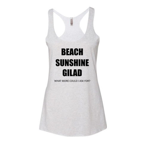 Image of Beach Sunshine Gilad - Women's tank top