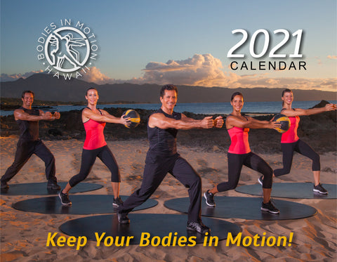 Image of Bodies in Motion 2021 Calendar