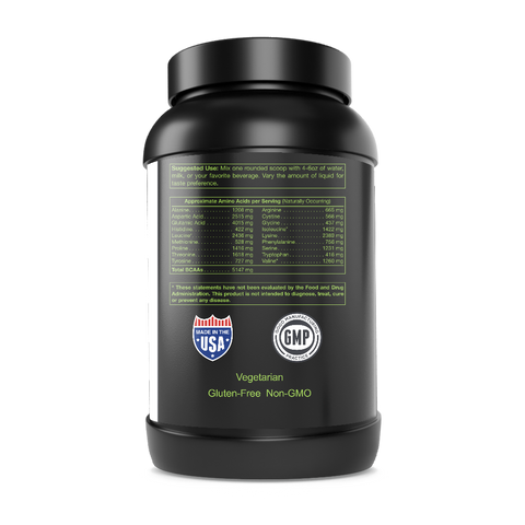Natural Chocolate Whey Protein - Supports Muscle Development and Tissue Repair - Made in USA