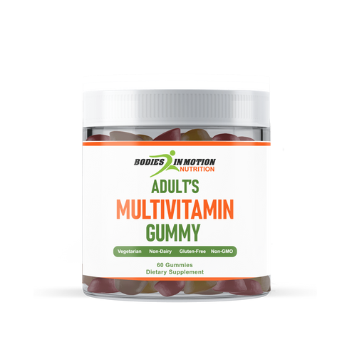 Adult Multi Vitamin Mixed Flavor Gummies - Made in USA
