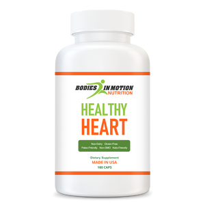 Heart Healthy - Heart Health and Blood Pressure Support.