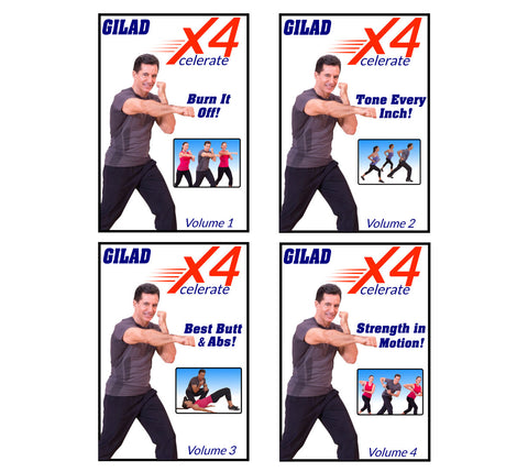 Image of Gilad's Xcelerate 4 Workout Series
