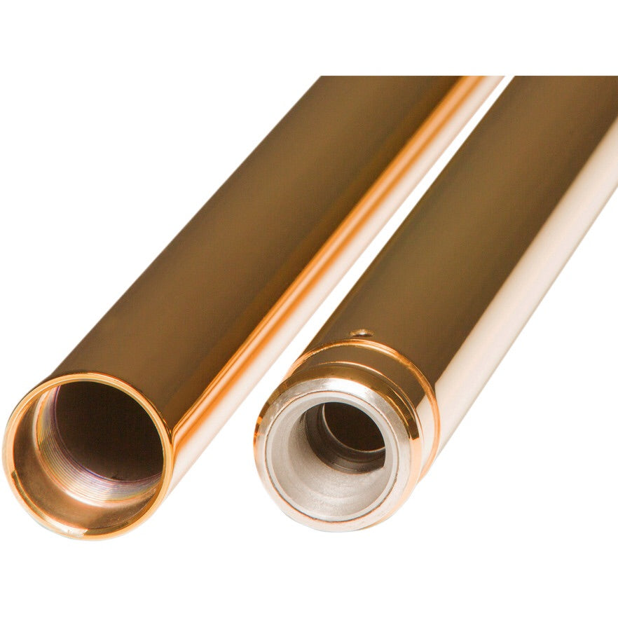 Custom Cycle Engineering Gold Fork Tubes (39mm)