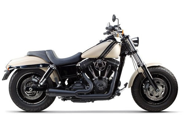 Two Brothers Comp-S 2-Into-1 Exhaust For Harley Dyna