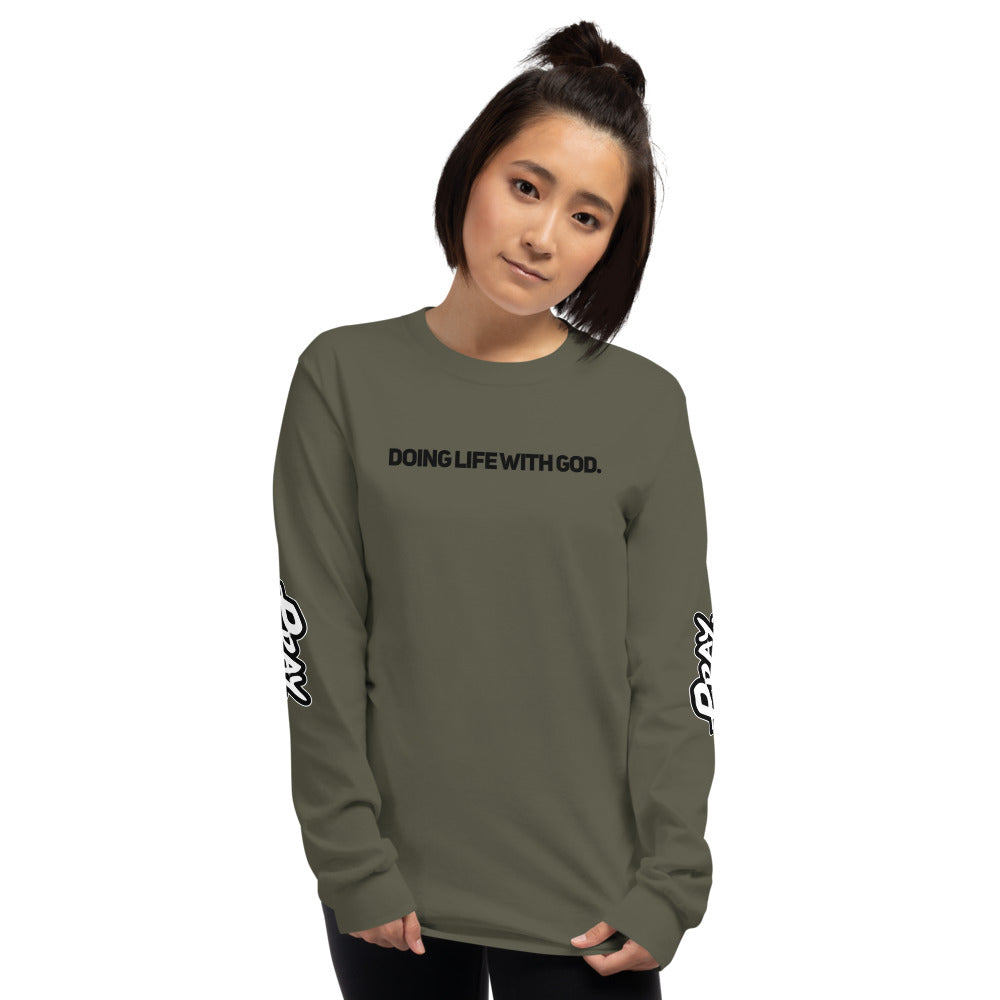 Doing Life With God Long Sleeve Shirt - Pray Period