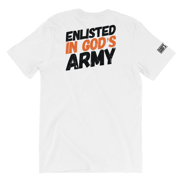 Enlisted In God's Army Tee - (Unisex) - Pray Period
