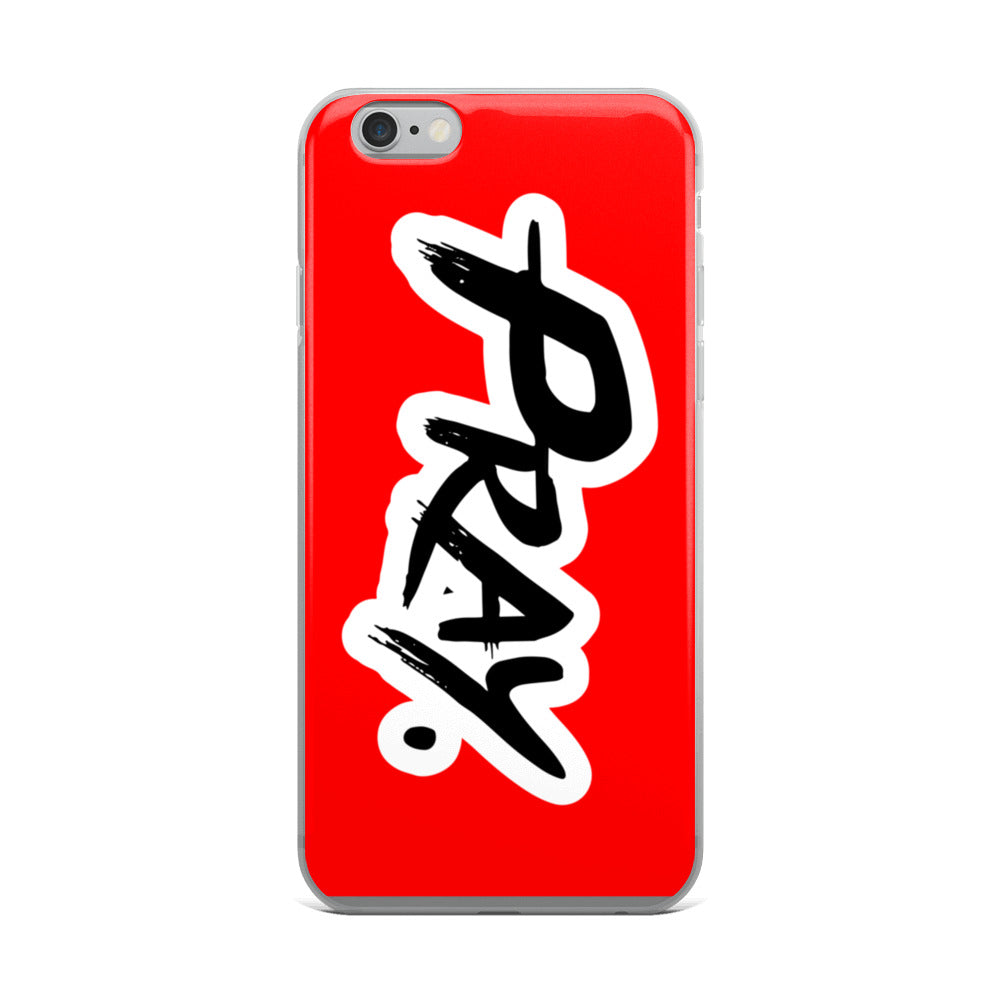 Anointed Pray Classic Red iPhone Case - Pray Period