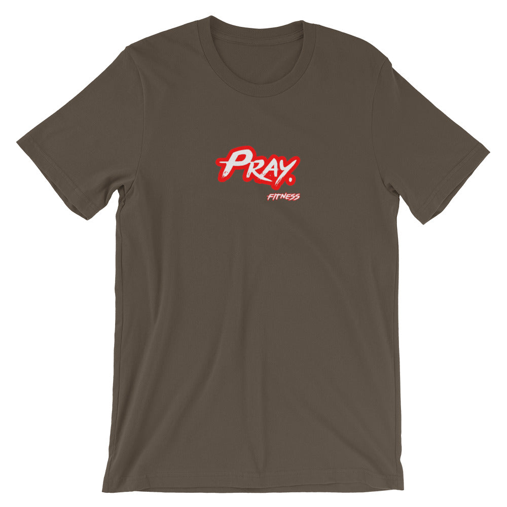"""PRAY. FITNESS"" Short-Sleeve Unisex T-Shirt - Pray Period"