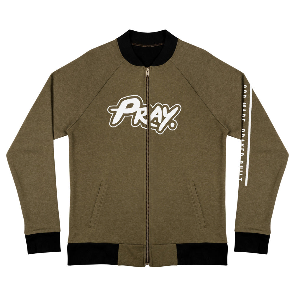 Anointed Pray Unisex Bomber Jacket - Pray Period
