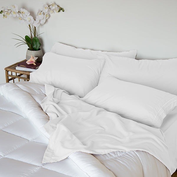 Lily White Sleep Oasis Sheet Sets