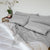Sea Haze Gray Sleep Oasis Sheet Sets