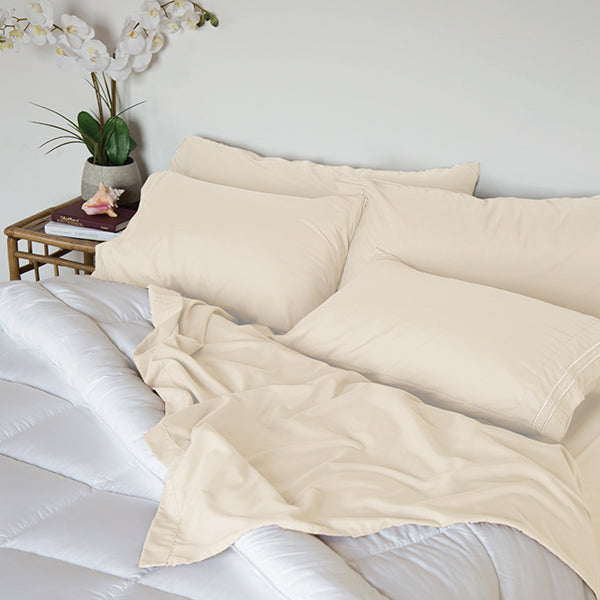 Coconut Milk Sleep Oasis Sheet Sets