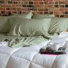 Seafoam Green Natural Bamboo Sheet Set