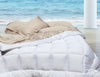 Queen Sand Castle Light Brown Natural Bamboo Sheet Set