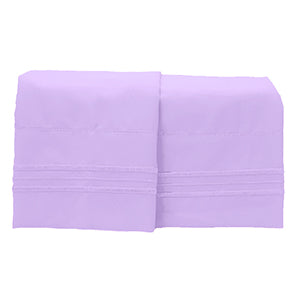 Sleep Oasis 1800 Pillow Cases  (King Set of 2)