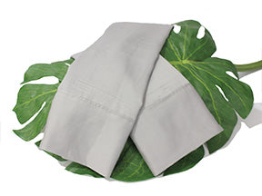 Harbor Mist Gray Natural Bamboo Sheet Set